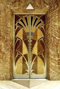 chrysler building elevators