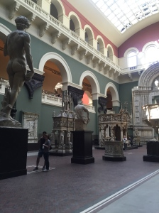 One of the cast courts at the V&A.