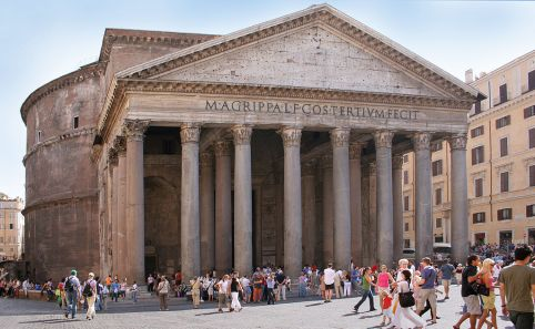 Rome_Pantheon_front