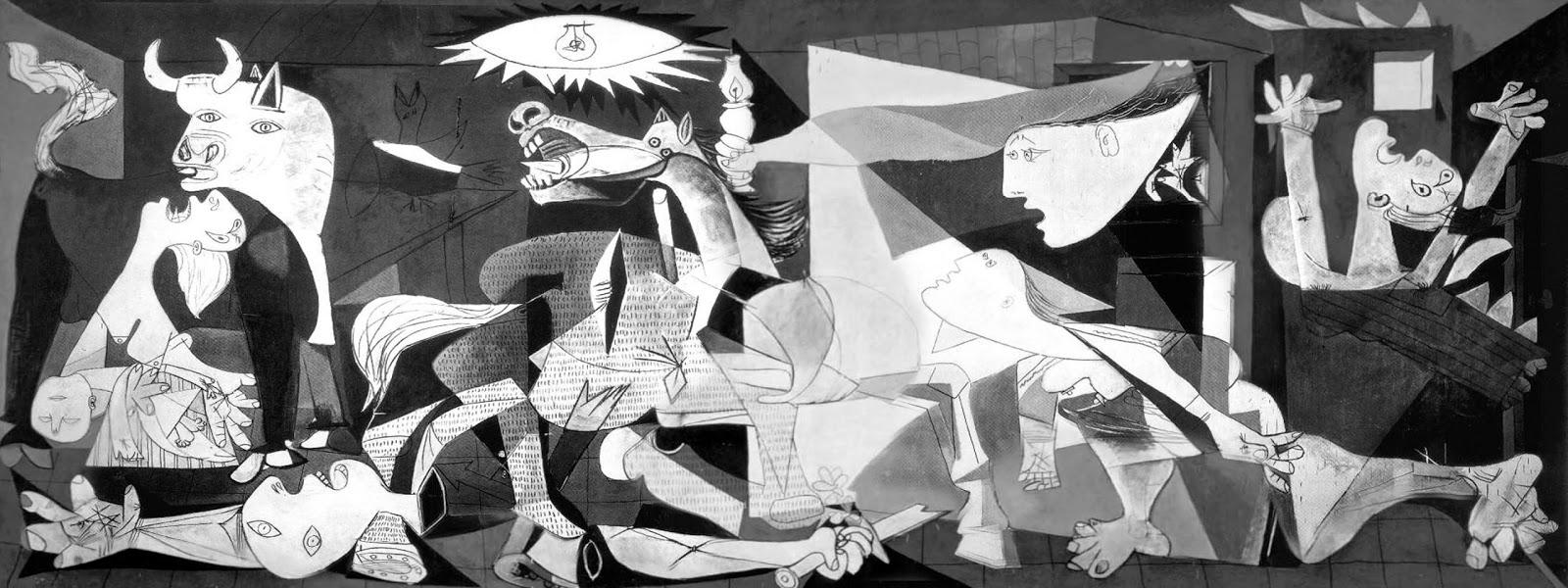 Picasso guernica vs michelangelo pieta