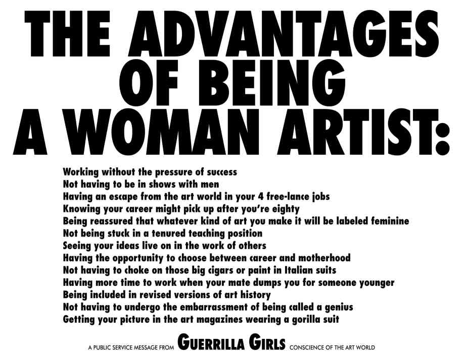 1988GuerrillaGirls-Advantages3000at300
