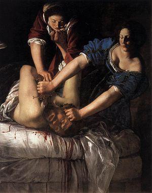 Wikimedia commons_Artemisia_Gentileschi_-_Judith_Beheading_Holofernes_-_WGA8563