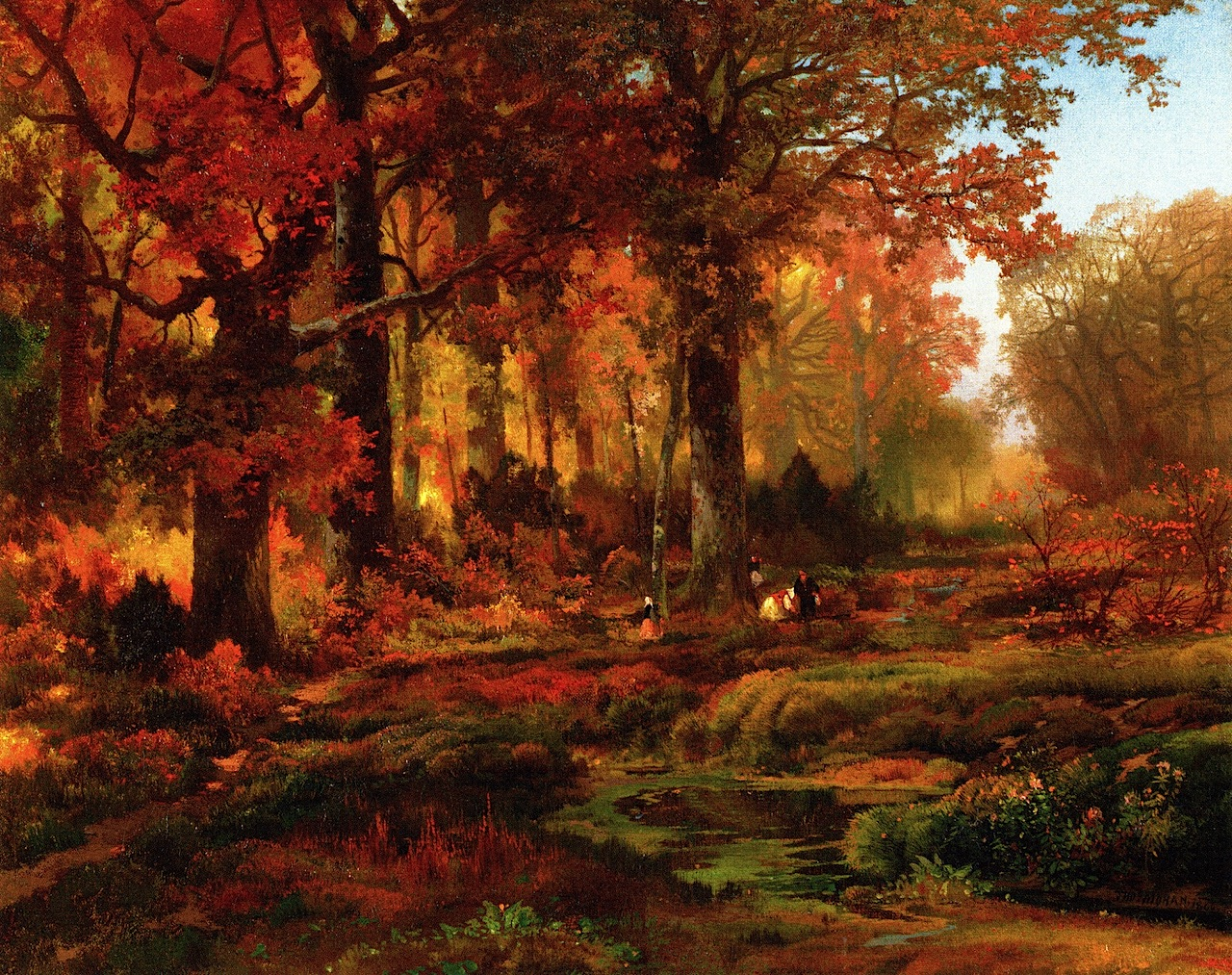 Autumn Paintings Through the Years