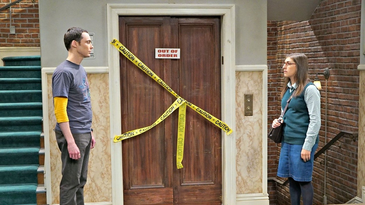 The Importance of the Broken Elevator in The Big Bang Theory
